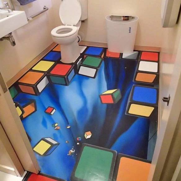 Melhor Não Entrar Bêbado no Banheiro