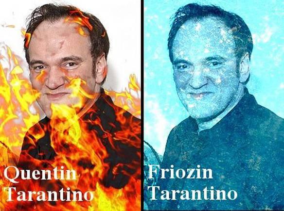 Quentin Tarantino e Friozin Tarantino