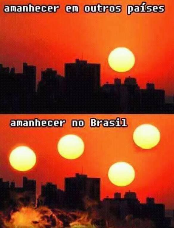 Sol no Brasil