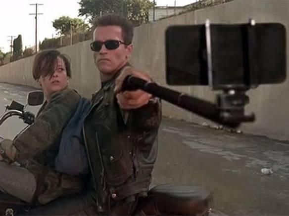 Exterminador da Selfie do Futuro