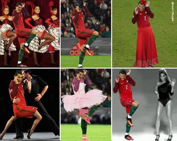 Talentos de Cristiano Ronaldo