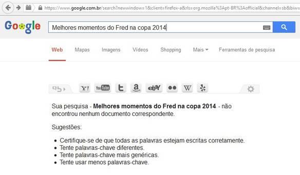 Fred na Copa