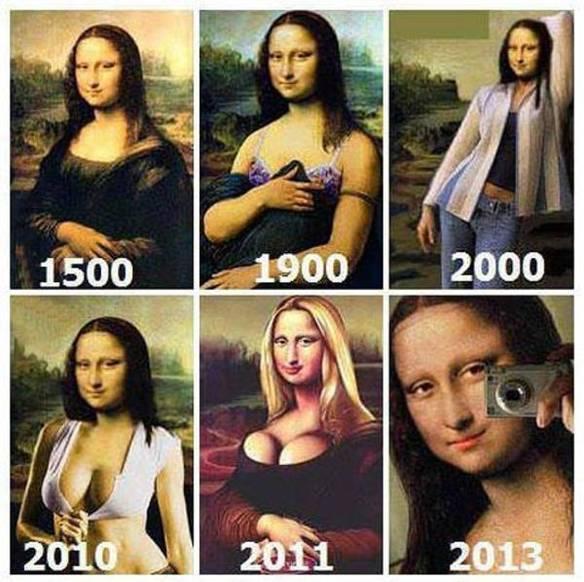 Evolução de Monalisa